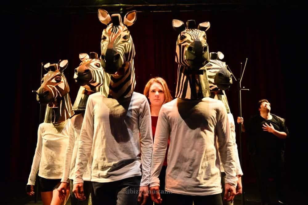 Actores de la obra que fue de Ana García