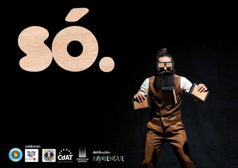 Cartel de la obra de teatro SÓ.